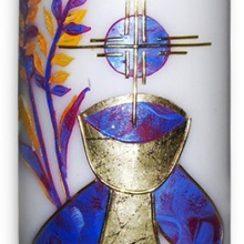 Communion candle (cup)