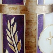Liturgical candle - Eucharist